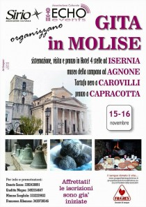 Weekend in Molise 15 e 16 novembre
