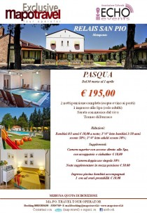 WEEKEND di PASQUA con MAPOTRAVEL ed ECHOEVENTS